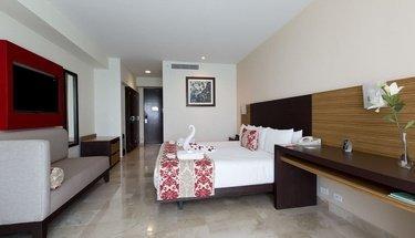 Quarto romântico Hotel Krystal Cancún Cancún