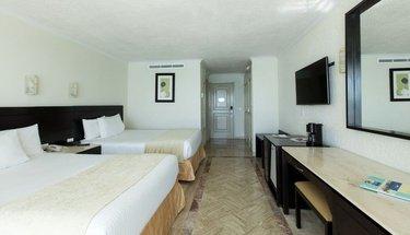 Quarto duplo standard Hotel Krystal Cancún Cancún