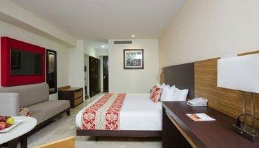 Quarto Krystal club Hotel Krystal Cancún Cancún