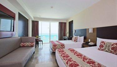 Quarto duplo Krystal club Hotel Krystal Cancún Cancún