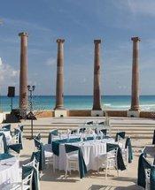 Sete colunas Hotel Krystal Cancún Cancún